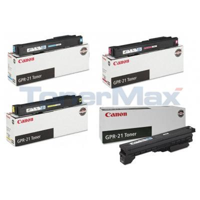 CANON GPR-21 TONER BUNDLE PACK (BLACK, CYAN, MAGENTA, YELLOW)